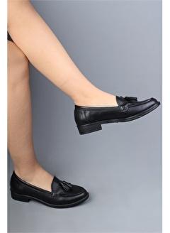 Modabuymus Modabuymus Hakiki Deri Corcik Kadın Ayakkabı - Kolok